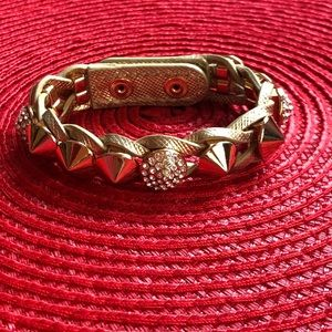 Henri Bendel leather bracelet